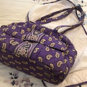 Diaper bag with changing pad
